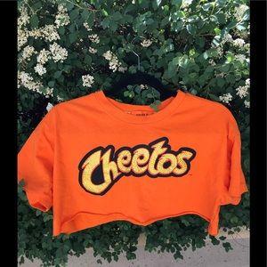 🧡Forever 21 Cheetos Crop Top T-shirt- Size Medium